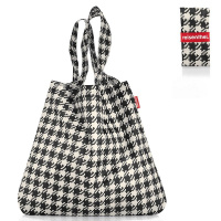 Сумка складная mini maxi shopper fifties black