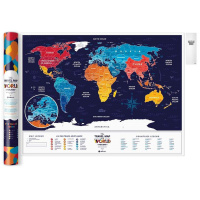 Карта travel map holiday world