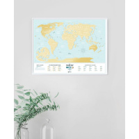 Карта travel map holiday lagoon world