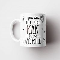 "Кружка ""You are the Best man in the world"" 330 мл"